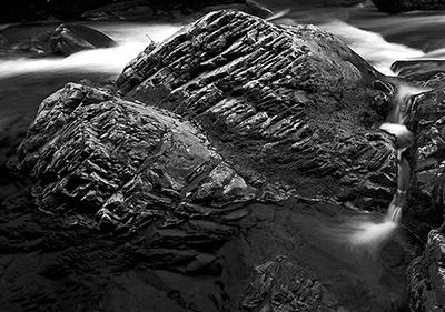 Black River Boulder